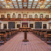 House Of Representatives - Texas State Capitol Poster