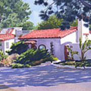 House On Crest Del Mar Poster