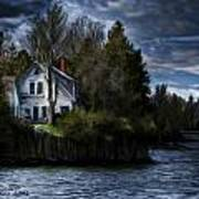 House On The Lake Poster