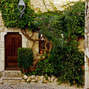 House Saint Paul De Vence France Dsc02353  Poster