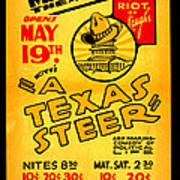 Hoyts A Texas Steer Poster