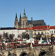 Hradcany - Prague Castle Poster