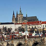 Hradcany - Prague Castle Poster