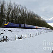 Hst In The Snow  Poster