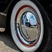 Hubcap Corvette Poster