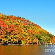 Hudson River Fall Foliage Poster