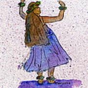 Hula Series Malia Poster