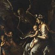 Human Frailty, C.1656 Poster