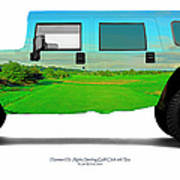 Hummer H1 Alpha Stirling Golf Club 6th Tee Poster