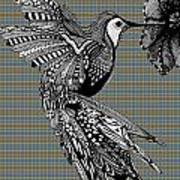 Hummingbird Flight 21 Poster