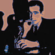 Humphrey Bogart And The Maltese Falcon 20130323m88 Poster by Wingsdomain Art and Photography