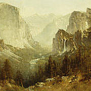 Hunting In Yosemite Poster