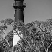 Hunting Island Light Poster