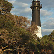 Hunting Island Lighthouse 1 Poster