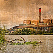Huntly Power Station Poster