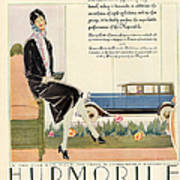 Hupmobile 1929 1920s Usa Cc Cars Womens Poster by The Advertising Archives