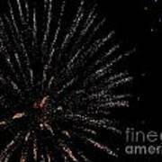 Huron Ohio Fireworks 14 Poster by Jackie Bodnar