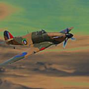 Hurricane Fighter Plane 2 Poster