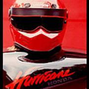 Hurricane Honda Poster
