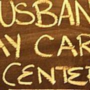 Husband Day Care Center Poster