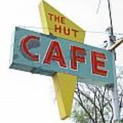 Hut Cafe Poster
