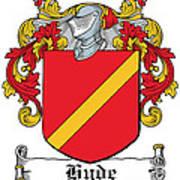 Hyde Coat Of Arms I Ireland Kilkenny Poster