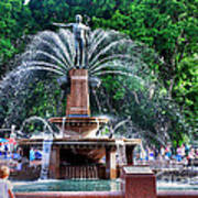 Hyde Park Fountain Poster
