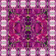 Hydrangea Abstract Poster