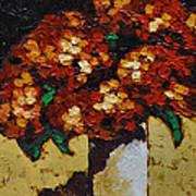 Hydrangeas II Poster by Vickie Warner