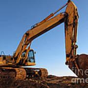 Hydraulic Excavator Poster