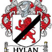 Hylan Coat Of Arms Irish Poster
