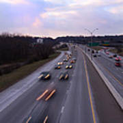 I-75 Knoxville At Dusk Poster