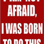 I Am Not Afraid Poster