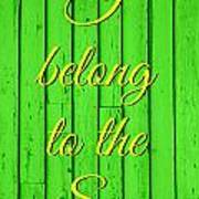 I Belong To The Sea Poster