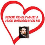 I Love Renoir Poster
