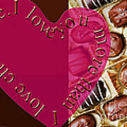 I Love You More Than I Love Chocolate 5 Poster