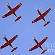Iaf Flight Academy Aerobatics Team 4 Poster