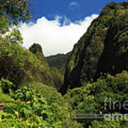 Iao Needle - Iao Valley Poster