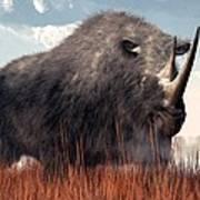 Ice Age Rhino Poster
