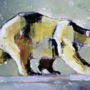 Ice Bear Poster by Mark Adlington