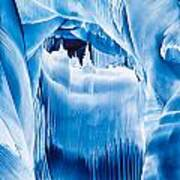 Ice Castles Painting Poster