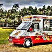 Ice Cream in the New Forest Poster