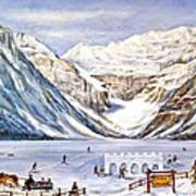 Ice Magic-lake Louise Winter Festival Poster