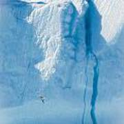 Ice Wall Poster by David Pinsent
