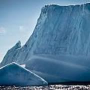 Ice Xxviii Poster by David Pinsent
