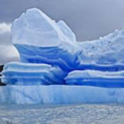 Iceberg Sculpture Poster