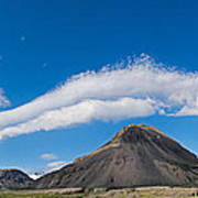 Iceland Cloudscape Panorama Poster