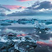 Iceland Daybreak Poster