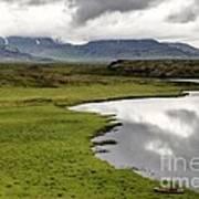 Iceland Landscape Poster