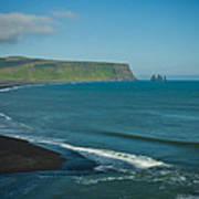 Icelandic Beach Poster